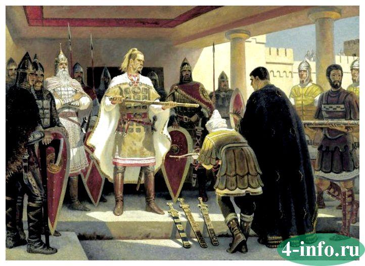 дунайские походы князя святослава