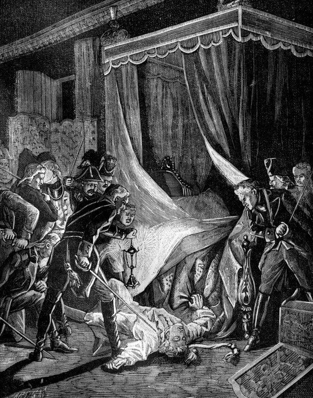 убийство павла первого