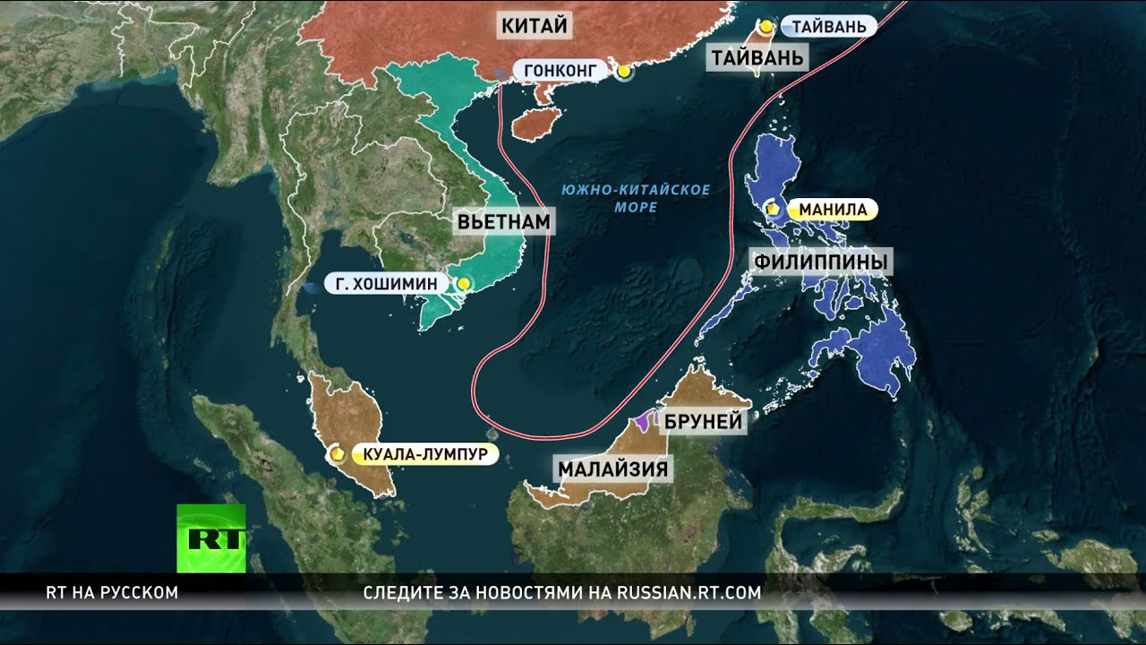 китайское море