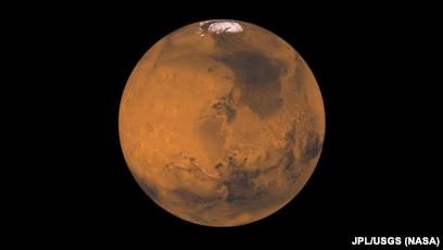 марс по сравнению с землей
