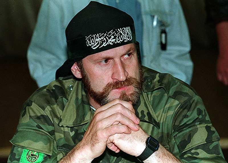 главари чеченских боевиков