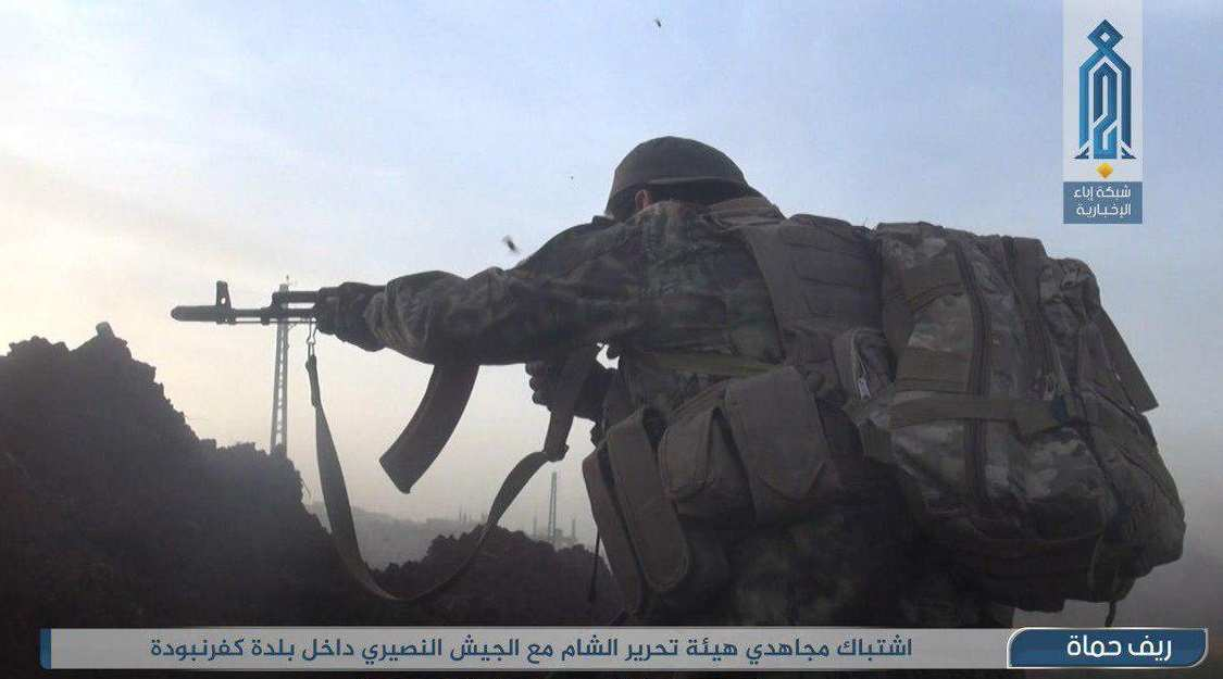 видео боевиков в сирии