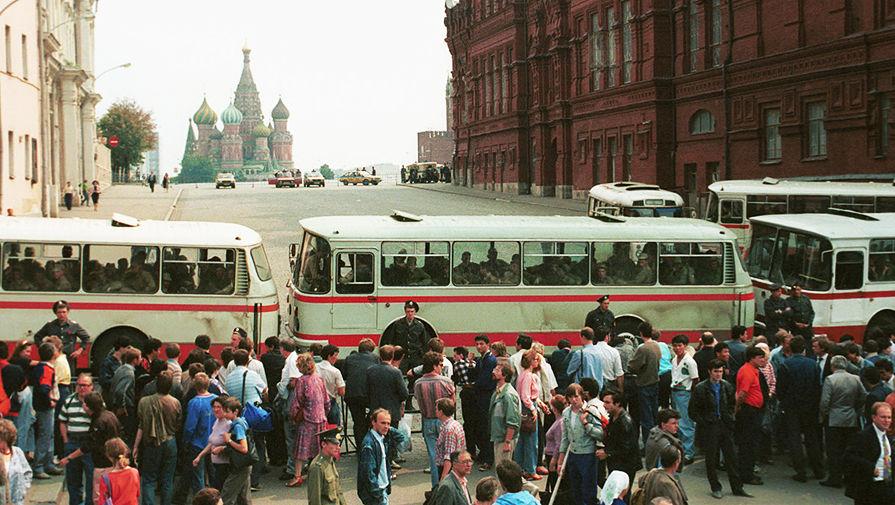 события августа 1991 года и их последствия