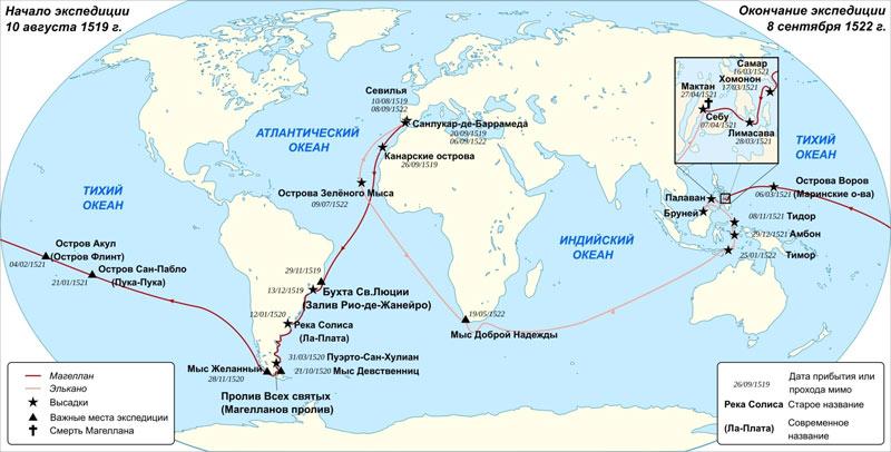 первое российское кругосветное путешествие