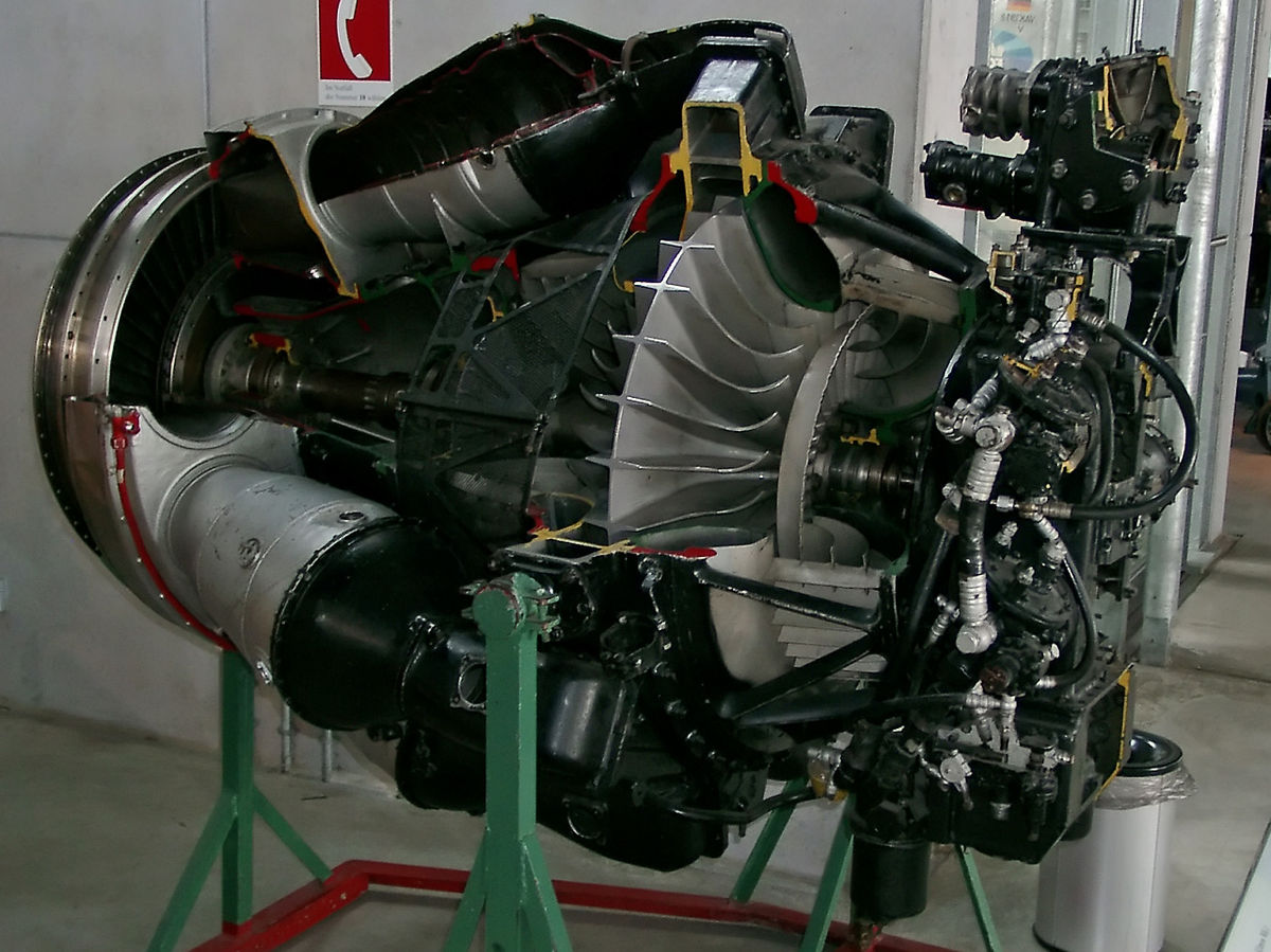 мотор самолета