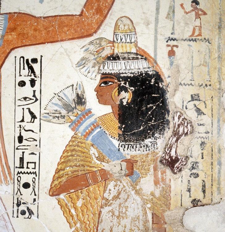 одежда египтянок