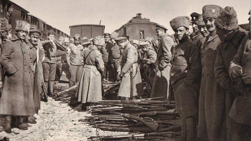 чехословацкое восстание