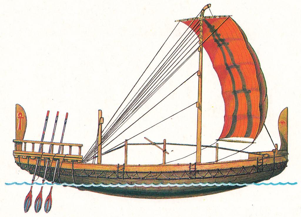 триера корабль