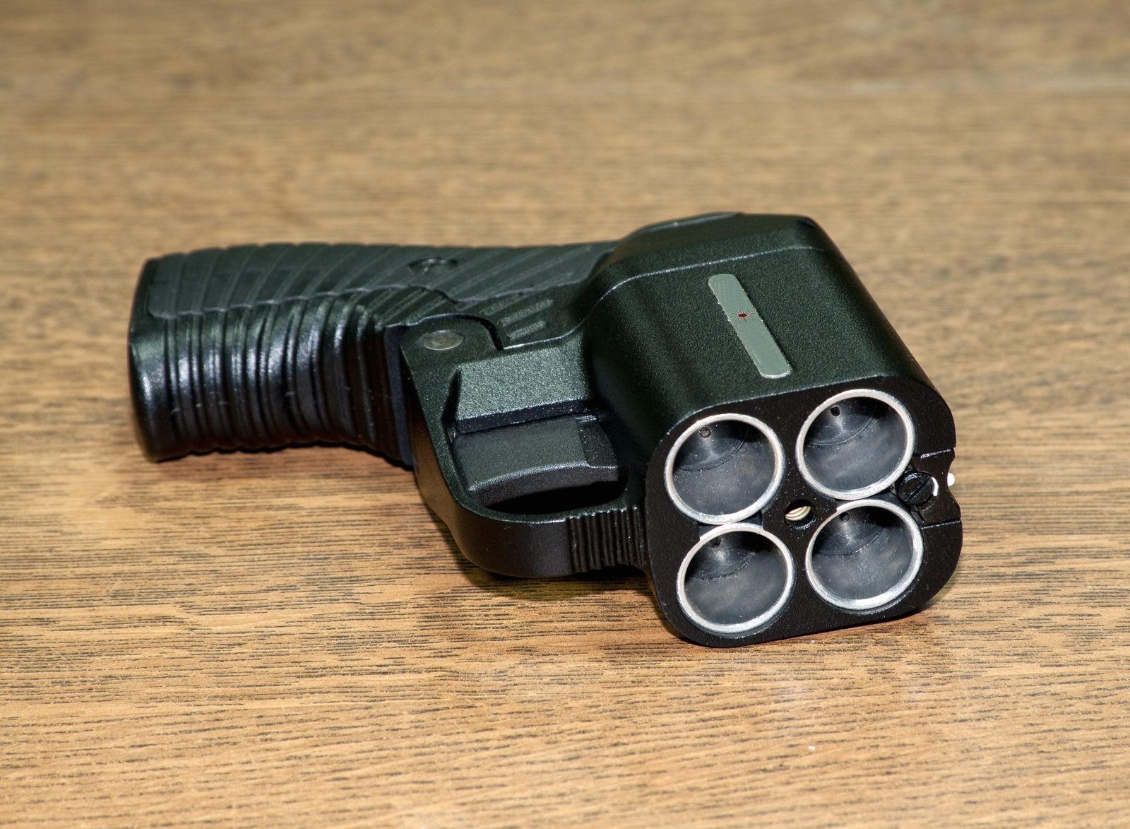 пистолет для газового баллончика