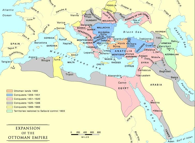 кто развалил османскую империю