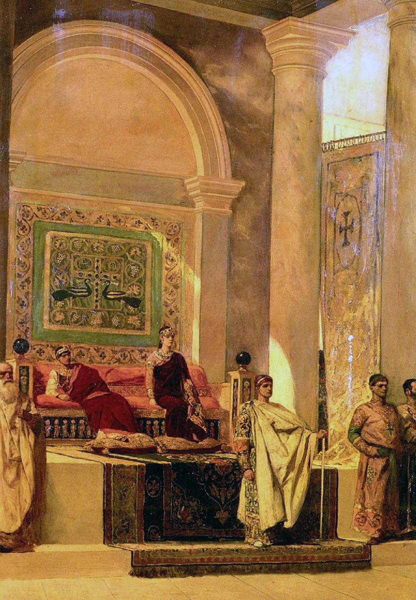 император византии назначал