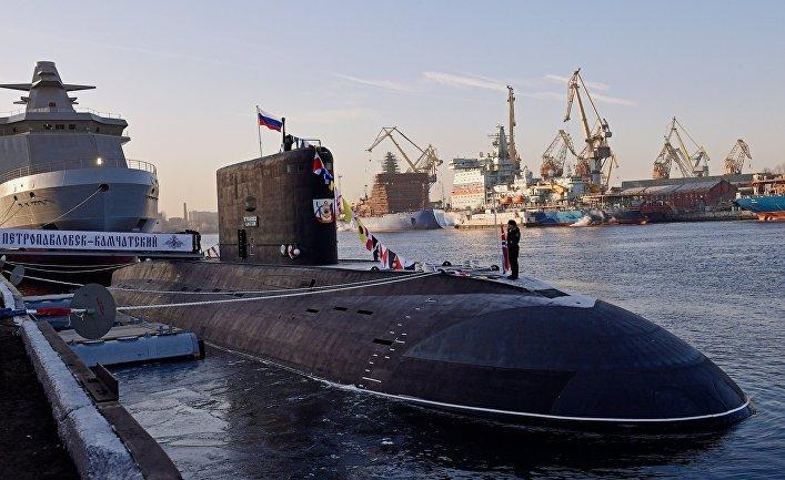 русские подводные лодки
