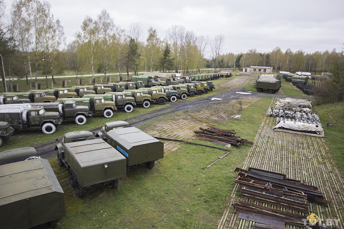 автомобили с консервации министерство обороны
