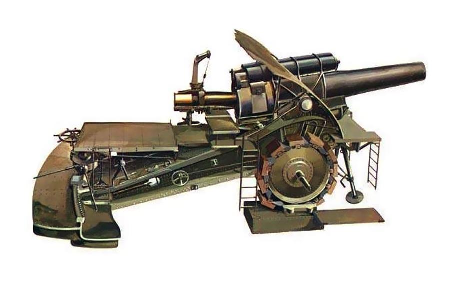 большая берта пушка