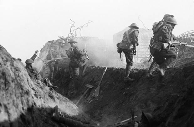 наступление нивеля 1917