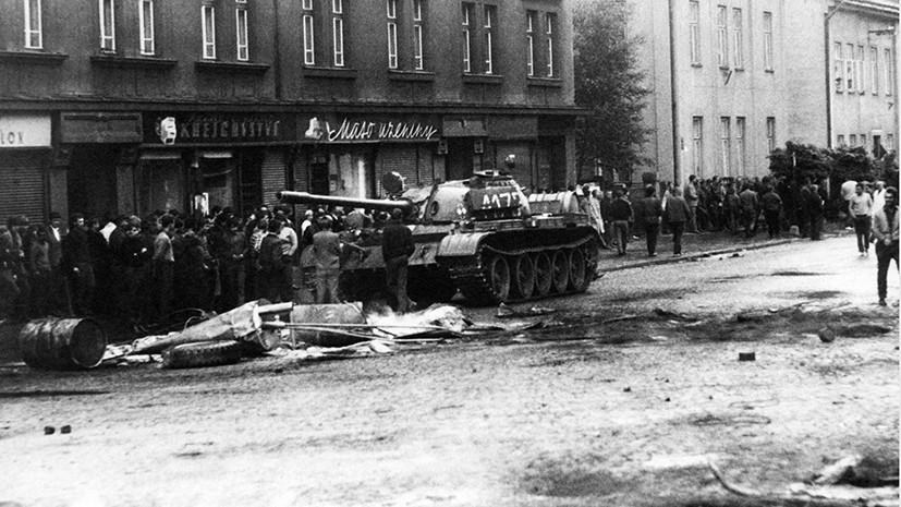 ввод войск стран овд в чехословакию