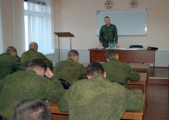 присвоение классности военнослужащим