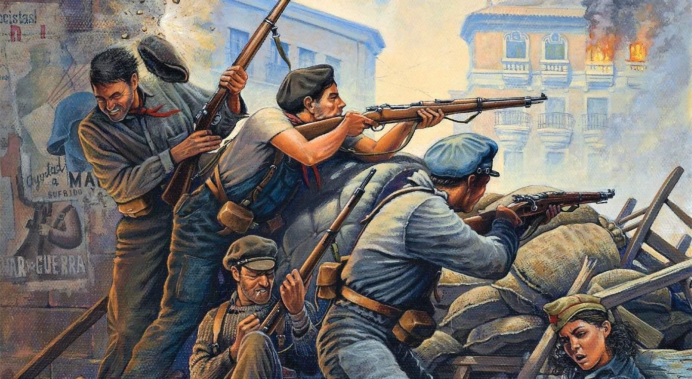 когда началась гражданская война в испании