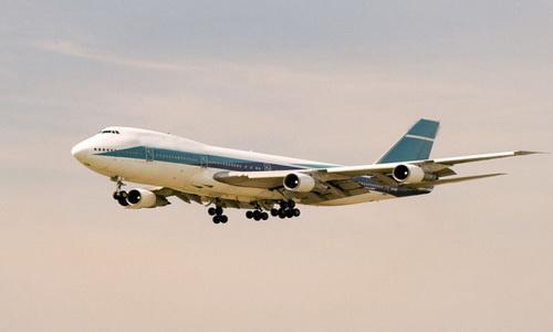боинг 747 салон