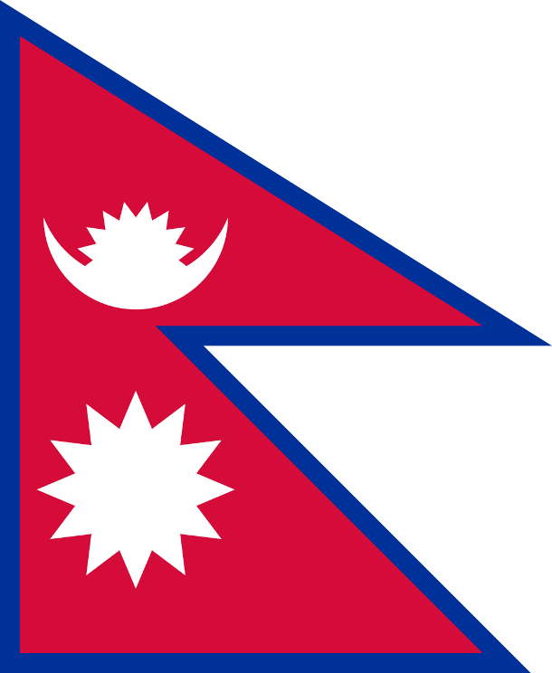 бело синий флаг