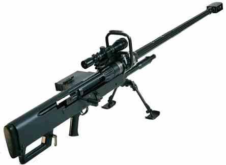 самая мощная винтовка в мире