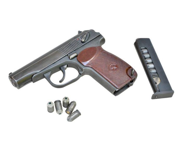 светозвуковой пистолет для самообороны