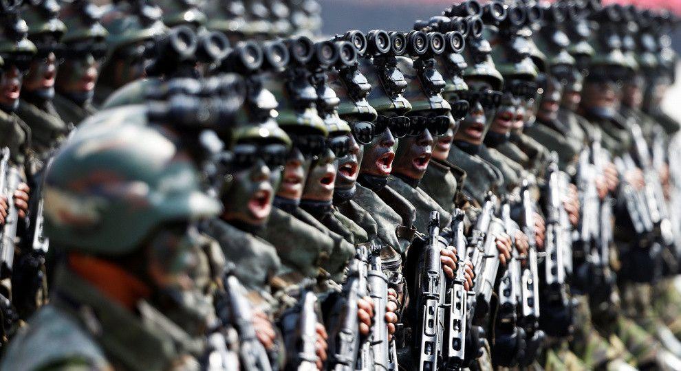 бюджет армий мира