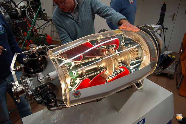 устройство двигателя самолета