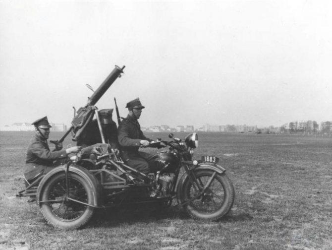 немецкие мотоциклы времен второй мировой войны