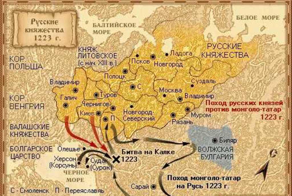 1223 год событие