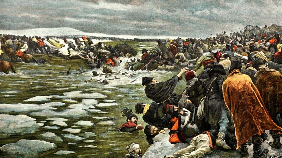 река березина 1812