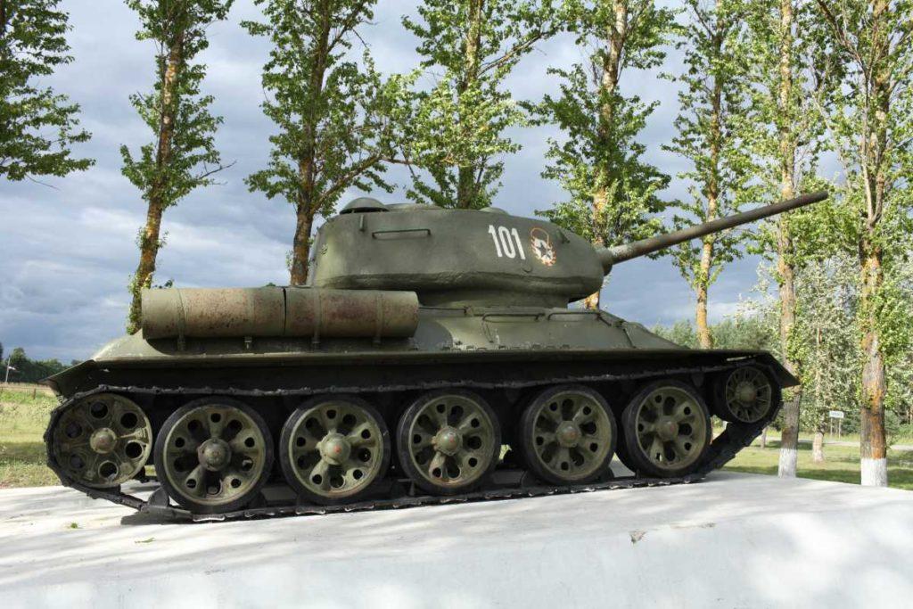 история танков россии