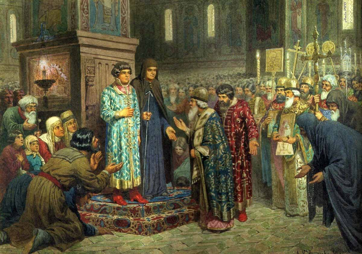причины избрания михаила романова на престол