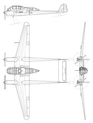 рама самолет разведчик