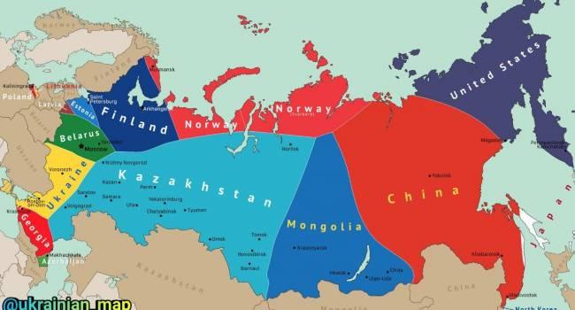 когда распадется россия