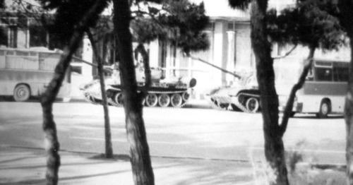 события в баку в январе 1990 года