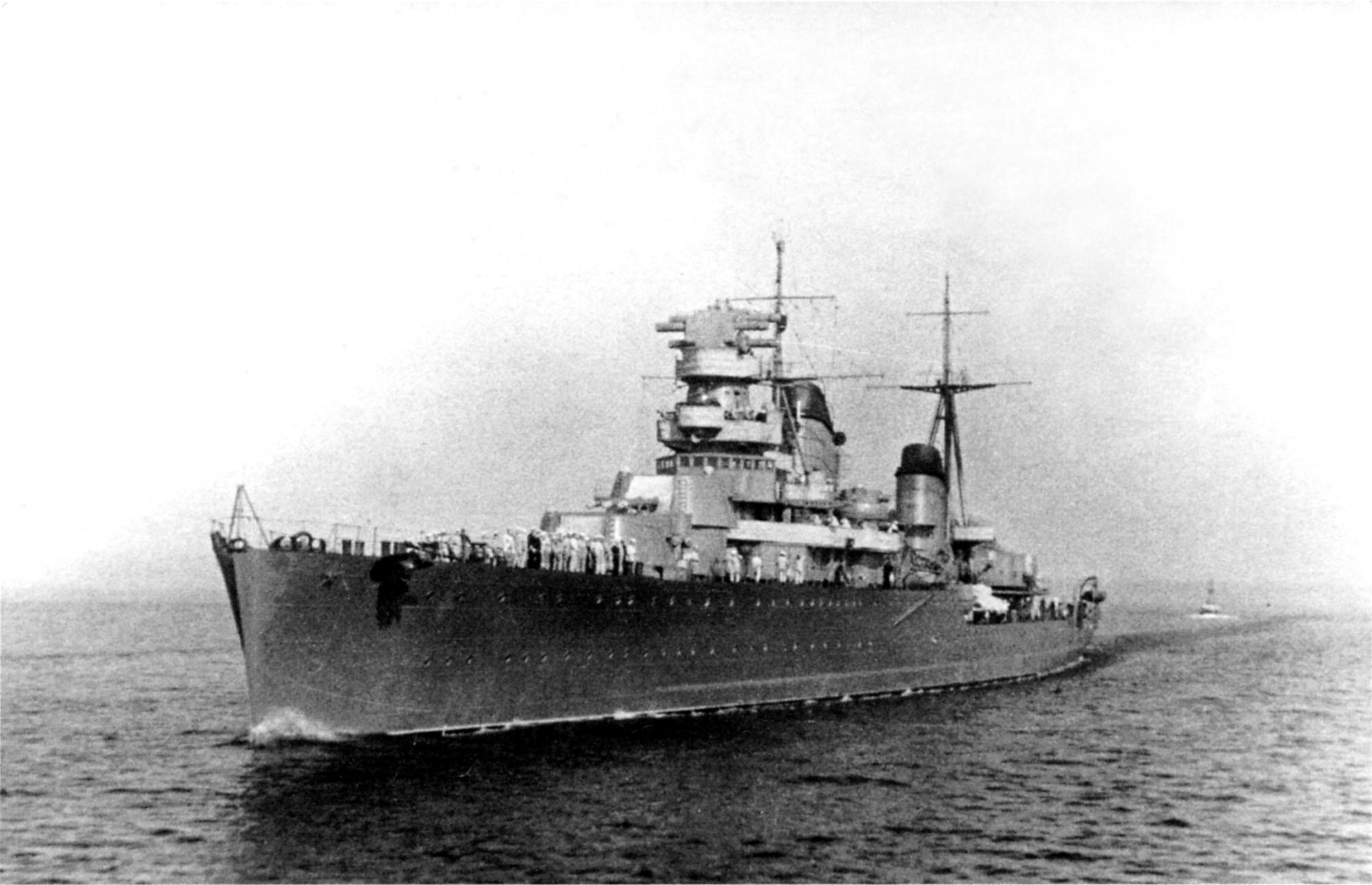 крейсер киров 1936