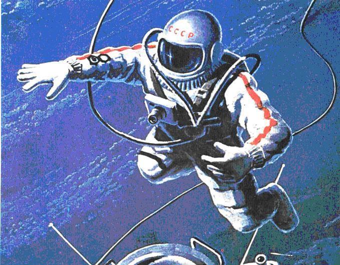 кто 1 вышел в открытый космос
