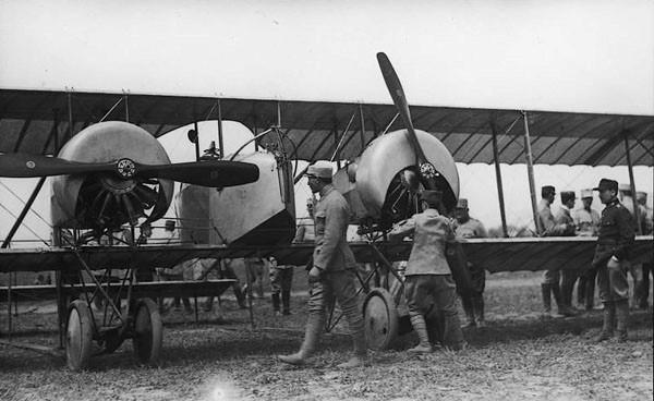 аэропланы первой мировой войны