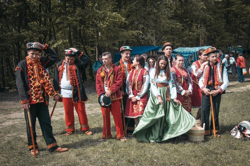 откуда взялись украинцы