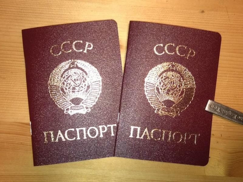 паспортизация в ссср