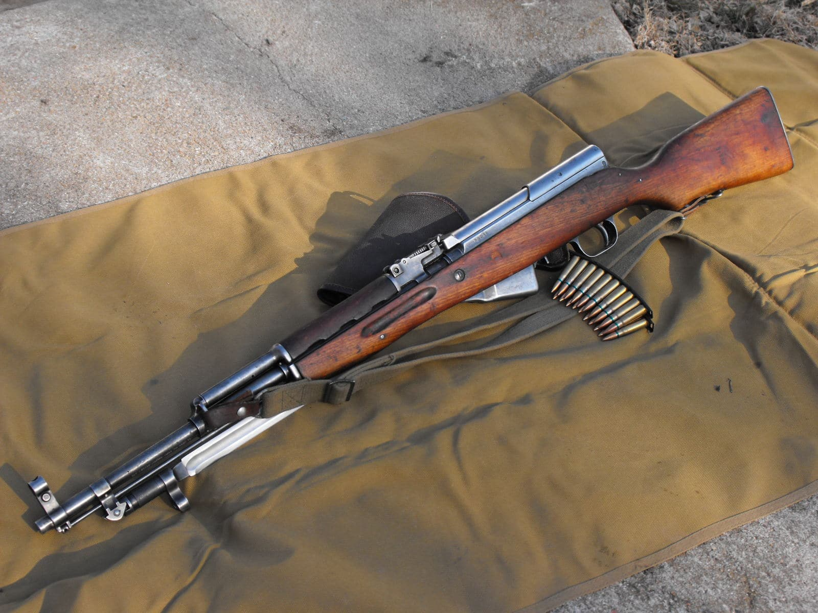 карабин скс 7 62 54 охотничий