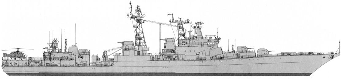 большой противолодочный корабль проекта 1155