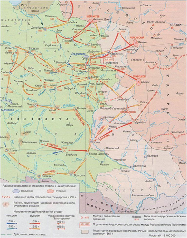 русско польская война 1609 1618