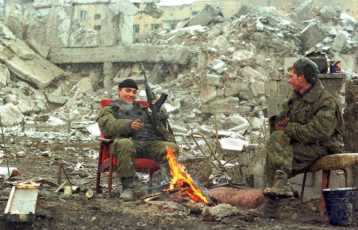 воспоминания о чеченской войне