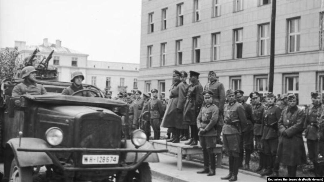 вторжение германских войск в польшу