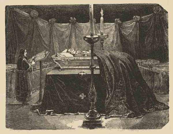 где похоронен суворов александр васильевич