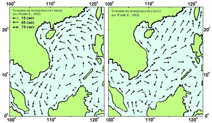 где находится южно китайское море