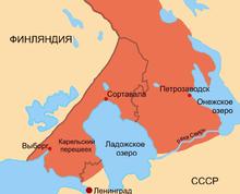 линия обороны ленинграда на современной карте