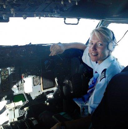 девушки пилоты гражданской авиации